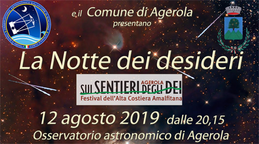 La Notte dei desideri  12/08/2019 – Festival sui Sentieri degli Dei 2019