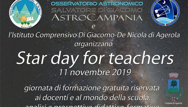 Star Day for Teachers – 11 novembre 2019