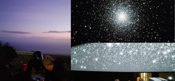 Visita guidata 4 settembre 2020 –  Saturno, Giove, ammassi stellari e nebulose planetarie