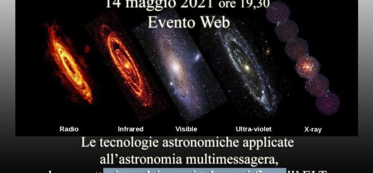 Segnali dall'universo 14 maggio 2021