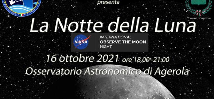 Notte della Luna – evento su prenotazione 16 ottobre 2021